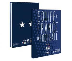 Cahier de texte FFF Lundi au Samedi Bleu