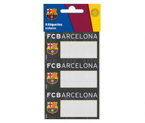 Etiquettes scolaires Barça