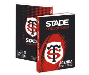 Agenda Scolaire Stade Toulousain 2021/2022 Noir/Rouge
