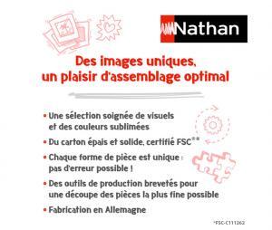 Puzzle Nathan 500 Pièces Fiers d'être Bleus