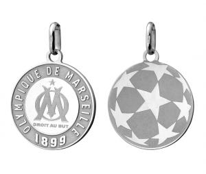 Pendant OM Logo Silver
