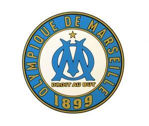 Magnet OM Logo Aimanté Bleu