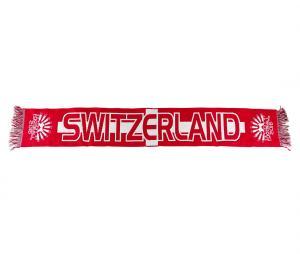 Echarpe Suisse Rouge/Blanc