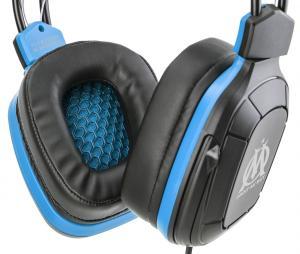 Casque Gaming E-Sport Subsonic OM Noir/Bleu