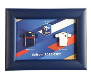 Cadre Pins Maillot France Domicile/Extérieur 2020 -21