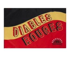 Drapeau Belgique Noir/Jaune/Rouge