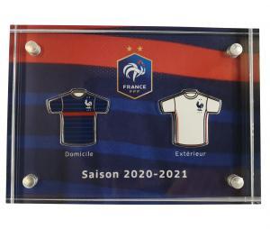 Bloc avec Pins Maillots France 2020 -21