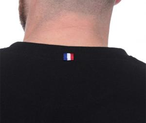 T-shirt Ruckfield French Rugby Club Noir