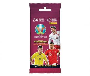 24 cartes + 2 Cartes rares Panini UEFA Euro 2020 ADRENALYN XL 2021 Kick Off