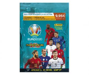 Pack de démarrage Panini UEFA Euro 2020 ADRENALYN XL 2021 Kick Off