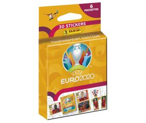 30 Stickers Panini UEFA EURO 2020 TOURNAMENT EDITION