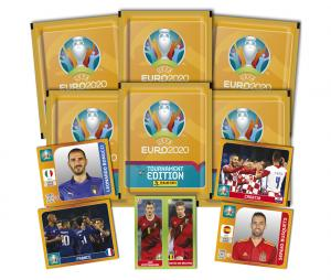 30 Stickers Panini UEFA EURO 2020 TOURNAMENT EDITION