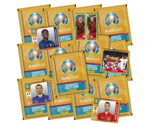 60 Stickers + 10 Stickers Offerts Panini UEFA EURO 2020 TOURNAMENT EDITION