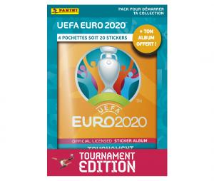 Pack de démarrage Panini UEFA EURO 2020 TOURNAMENT EDITION