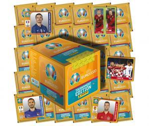 Boite de 250 Stickers Panini UEFA EURO 2020 TOURNAMENT EDITION