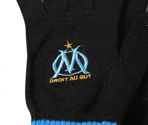 Gants Supporter OM Noir