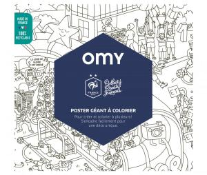 Coloriage OMY Géant OFFERT !