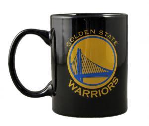 Mug Golden State Warriors NBA Logo Noir