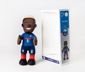 Poupluche FFF Paul Pogba