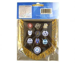Banderín OM Logo Marrón