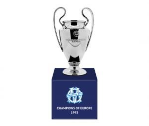 Trophée OM Champions d'Europe en 1993 70 mm