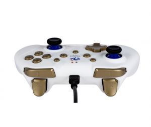 Manette Filaire FFF Nintendo Switch Blanc