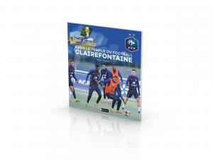 """Livre FFF """"Dans le temple du football"""" Clairefontaine"""