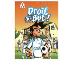 """Libro OM """"Droit au But : Fou de Foot"""" Tomo 3"""