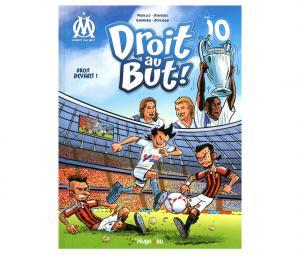 """Libro OM """"Droit au But : Droit devant"""" Tomo 10"""