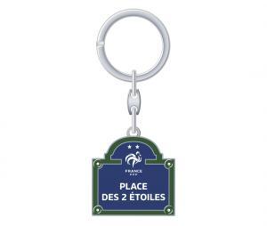 Porte-clés France Place des 2 étoiles