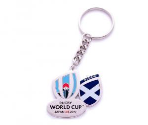 Porte-clés Écosse RWC Japan 2019 blanc