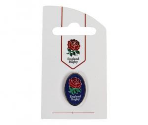 Pin's logo XV de la Rose Angleterre ovale bleu