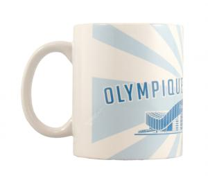 OM Orange Vélodrome Mug 250 ml White