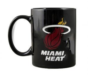 Mug Miami Heat NBA Logo Noir