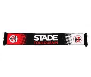Echarpe Stade Toulousain Noir/Rouge/Blanc