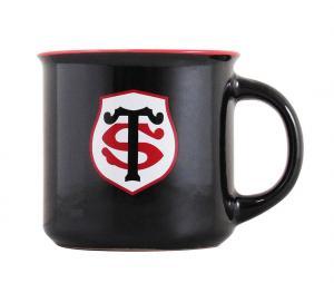 Mug Stade Toulousain Vintage Noir