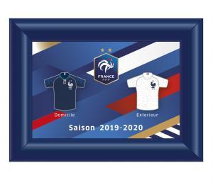 Cadre Pins FFF Maillots 2019/20