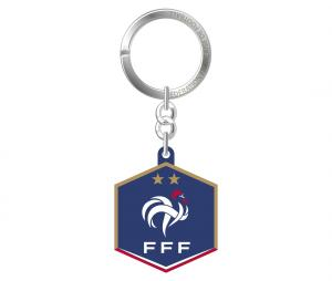 Porte-clés FFF Logo Bleu