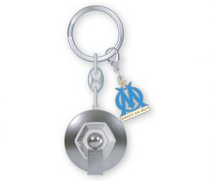 OM Ligue 1 2010 Trophy key ring Silver