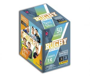 Boite 250 Stickers + 50 cartes PANINI RUGBY 2019-20
