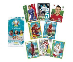 Boite 192 Cartes Panini UEFA EURO 2020 Adrenalyn XL