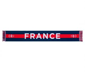 Echarpe France Bleu/Rouge