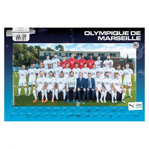 Poster officiel OM – Saison 2020/2021