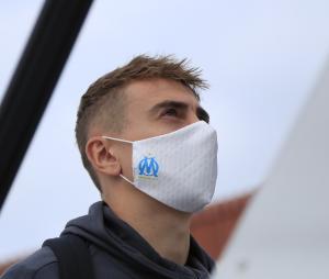 Masque de protection OM Blanc