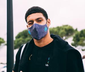 Masque de protection OM Bleu