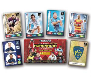 Boîte 144 cartes PANINI Rugby Adrenalyn XL 2020/2021