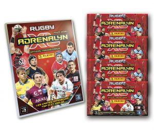 Pack de démarrage PANINI Rugby Adrenalyn XL 2020/2021