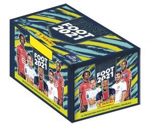 Boite 500 stickers PANINI Foot 2021