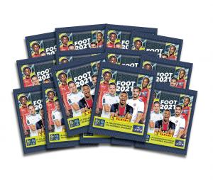 65 Stickers + 10 Stickers Offerts PANINI Foot 2021