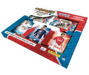 Coffret collector 3D 60 Cartes + 3 cartes lenticulaires PANINI Adrenalyn XL 2020/2021